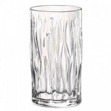 Aukšta skaidri stiklinė  WIND  480ml