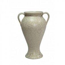 Vaza šviesiai skeldėta 40cm
