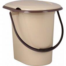 Plastikinis WC kibiras-tualetas 17l