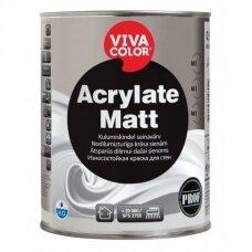 Vivacolor Acrylate Matt matiniai dažai 0.9l