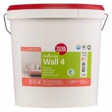 Green Line Wall 4 visiškai matiniai balti dažai sienoms 11,7l