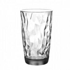 Aukšta skaidri stiklinė  DIAMOND, 470 ml
