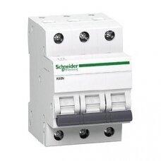 Automatinis jungiklis Schneider K60N, 3P, C, 16A, 6kA