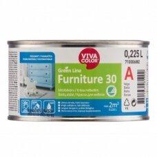 Baldų dažai Vivacolor Green Line FURNITURE 30  A  0,225l