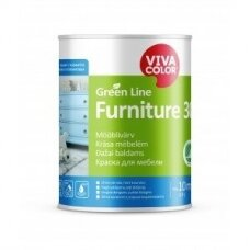 Baldų dažai Vivacolor Green Line FURNITURE 30  A  0,9l