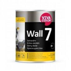 WALL 7 balti matiniai dažai sienoms  0,9l
