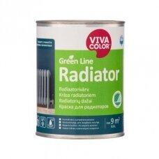 Balti radiatorių dažai Vivacolor Green Line RADIATOR A 0.9l