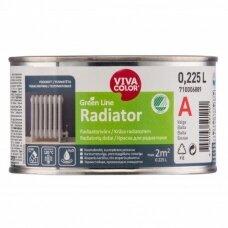 Balti radiatorių dažai Vivacolor Green Line RADIATOR A 0,225l