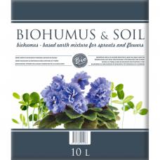 Biohumuso mišinys  daigams,gėlėms 10l