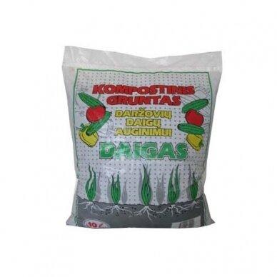 Daržovių daigų auginimo gruntas 10 l