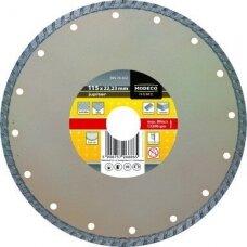 Deimantinis pjovimo diskas D115x22, TURBO