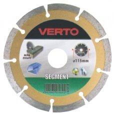 Deimantinis pjovimo diskas akmeniui D115x22