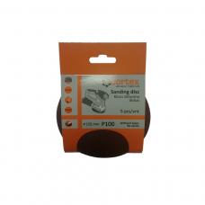Diskas kibus Cortex P100 125mm  be skylių 5vnt.