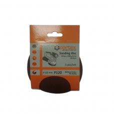 Diskas kibus Cortex P120 125mm 5vnt.