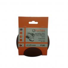 Diskas kibus Cortex P180 125mm 5vnt.
