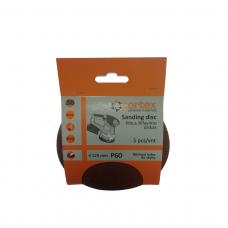 Diskas kibus Cortex P60 125mm 5vnt.