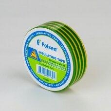 Geltona/žalia  izoliacinė juosta 19mmx20