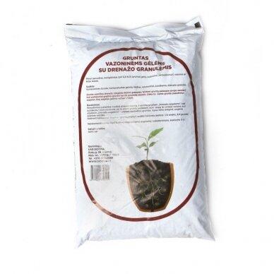 Gruntas su augalų drenažo granulėmis, 5 l 2