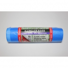 HDPE šiukšlių maišai 60l 60x72cm 10vnt.