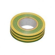 Izoliacinė juosta IEK geltona/žalia  0,13x15 20m