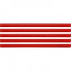 Klijų strypeliai raudoni 11x200mm  5vnt
