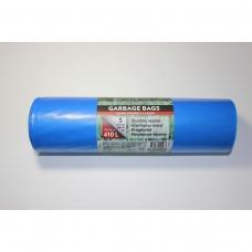 LDPE šiukšlių maišai 410l 110x145cm 5vnt.