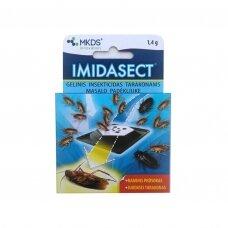 Masalo padėkliukai tarakonams naikinti IMIDASECT  1,4g