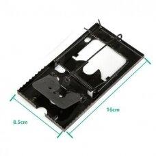 Metaliniai spąstai pelėms 16x8,5cm