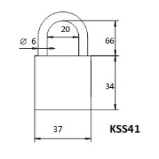 Pakabinama spyna  KSS-41