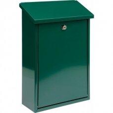 Pašto dėžutė žalios spalvos 380x275x100 mm