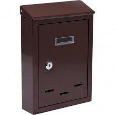 Pašto dėžutė rudos spalvos 285x200x60