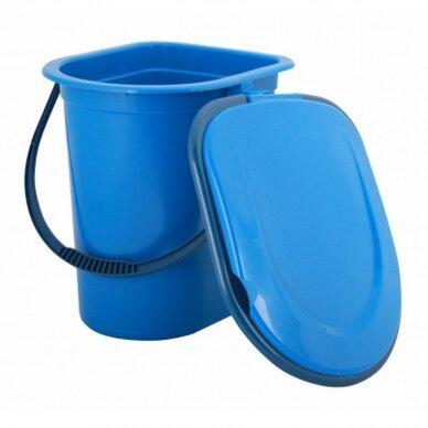 Plastikinis WC kibiras-tualetas 17l 3