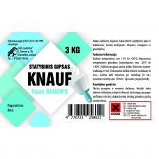 Statybinis gipsas Knauf 3kg