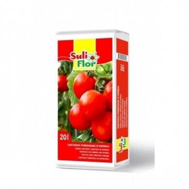Substratas pomidorams Suliflor 20L