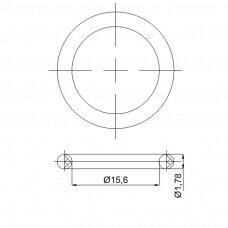 Tarpinė 15,60×1,78