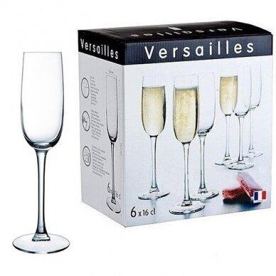 Taurės šampanui VERSAILLES 160ml  6vnt . 2