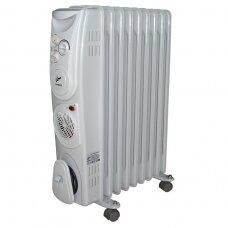 Tepalinis radiatorius su ventiliatoriumi