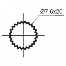 Ventilis 1/2 Eco Ceramic Cross (8×20) 270