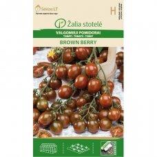 Valgomieji pomidorai BROWN BERRY