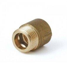 Žalvarinis prailgintojas  1/2 x20mm  vid/išor.