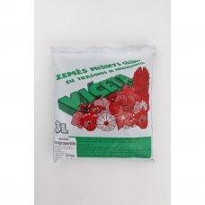 Žemės mišinys gėlėms su agroperlitu 3l